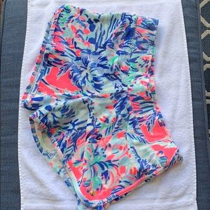Adorable comfy multi color summer Lilly shorts